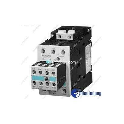 Khởi động từ contactor 18.5KW 40A 2NO 2NC Coil điều khiển 24VDC 3RT1035-1BB44