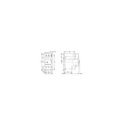 Overload Relay-relay thời gian 7-10A 3RU1126-1JB0